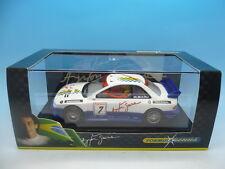 Scalextric f2222 Subaru Wht No7 Senna