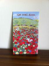 Get Well Soon Greeting Card - Inspirtional - Get Better/Well