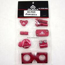 Dubya Bling Kit Honda Red CRF450R CRF 450 CR450F R 09 10 11 12 13 14 15 NEW