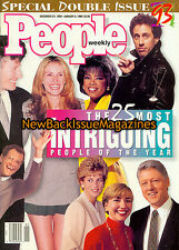 People 12/93,The 25 Most Intriguing People of the Year, 1993,NEW