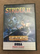 Strider 2 Sega Master System Game Uk CiB