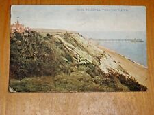 POSTCARD.   BOSCOMBE FROM THE CLIFFS
