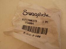 Swagelok R1FCY0037B  754004  B-QC6-B-600 Kupplung Connector