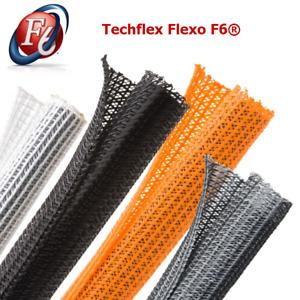 "Techflex F6N0.38 3/8"" Flexo F6 Sleeving Wrappable Split Braided Tube"