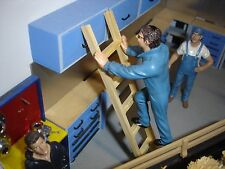 "1/18 - LADDER - 6"" = 9' in scale  SCALE - for your shop/garage/diorama"