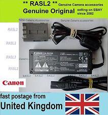 ORIGINALE Canon ACK-DC20 CA-PS700 + DC Accoppiatore DR-700 EOS 400d 350D PowerShot G9
