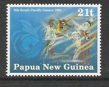PAPUA NEW GUINEA 1991 CRICKET SOUTH PACIFIC GAMES 1v MNH