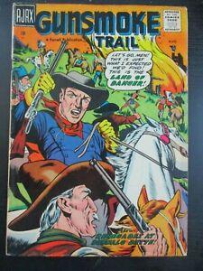 GUNSMOKE TRAIL #2, 1957 AJAX, FN, 6.0, RARE WESTERN ISSUE, FARRELL PUB, RENEGADE