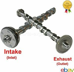 Pair Camshaft Timing Gear For 1.8 2.0 TFSI VW GTI Jetta Passat Audi BZB CDA CCZ