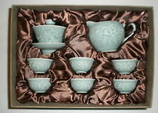 Celadon Tea Set, Tia Fu Tea Room, Beijing, China