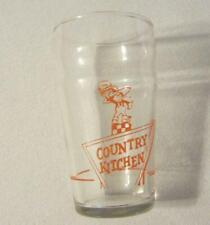 Country Kitchen Juice Glass - Orange Graphics - Nice