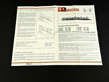 Rivarossi Betriebsanleitung für 1452, 1457,- 59, 1463 FS E-Lok BR E 636, E 645