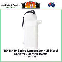 Radiator Overflow Bottle fit 75 / 78/ 79 Series Toyota Landcruiser 4.2l Diesel