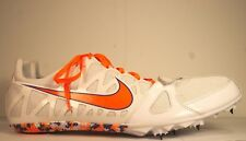 Nike Zoom Rival S Mens Track Cleats W/Spikes Size USA 15 White UK 14 EURO 49.5