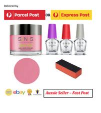 SNS Gelous Nail Dipping Powder Kit ( #SC08) Mad Crush, 5pcs, Free Post