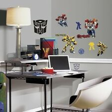TRANSFORMERS AUTOBOTS wall stickers 20 decals Bumblebee Optimus Prime room decor