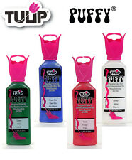 Tulip Puffy 3D dimensional fabric paint 37ml - * same p+p any quantity