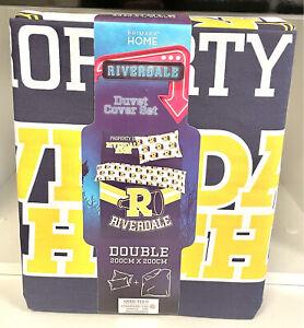 Primark Riverdale Double Duvet Cover Bedding Set Brand New 200cmX200cm