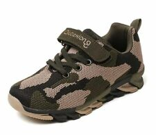 Kids Sport Shoes Sneakers Mesh Sport Running Shoes Pink Army Green Camouflage