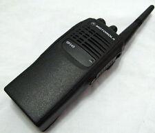 Motorola GP340 Two-Way Radio UHF 403-470 Mhz 4W 16 Channels W/O BATTERY