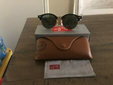 NEW Rayban Clubround Black Sunglasses RB4246 901 - 51/145 *3N with Tags