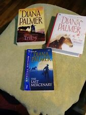Lot of 3 Diana Palmer TRILBY, LONE STAR WINTER,  THE LAST MERCENARY COLLECTIBLE