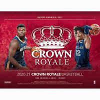 2020-21 Panini Crown Royale Basketball Hobby FACTORY SEALED HOBBY BOX