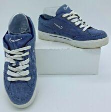 Vintage Women's Nike GTS Canvas Light String / Blue 143021-411 Tennis Casual
