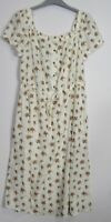 Marks & Spencer  Floral print  Boho Midi Dress Summer Bardot dress - 6 - 24