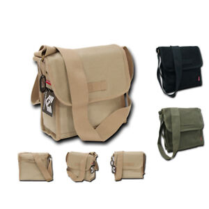 RapDom Tactical Field Shoulder Messenger Satchel Compact Tote US Army Style Bags
