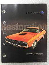 Mopar Performance Restoration 2007 Parts Source Book Part Number P5153817