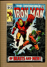 Iron Man #16 - Of Beasts and Men - 1969 (Grade 7.5) Wh
