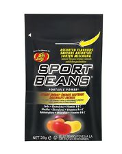 Sports Beans by Jelly Belly box of 24 x 28g with Carbs & Electrolytes - SAVE 10%