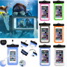 Underwater Waterproof Case Fluorescent Cover Bag Dry Pouch For Mobile Phone