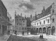 ST.JAMES'S PALACE Ambassadors Court 1875. Duke of Cumberland's Valet died c1880