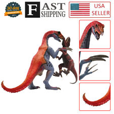 Therizinosaurus fight Giganotosaurus Dinosaur Figure toy Christmas Gift for Boys