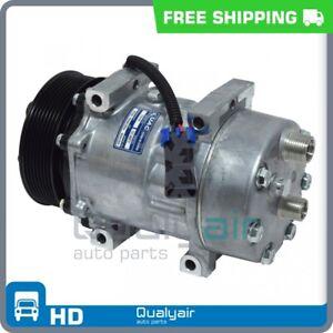 AC Compressor fits Ford F650, F750 / Peterbilt 325, 330, 337 QU