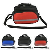 Bicycle Bike Rear Rack Bag Removable Carry Carrier Saddle Bag Pannier UK New Hot
