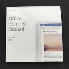 MS Office Home and Student 2019 For 1PC Windows & MAC License