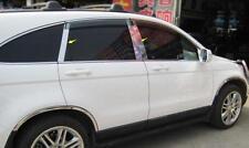 Steel Chrome Window Middle Pillars Cover Trim For Honda CR-V 2007 08 09 20 2011