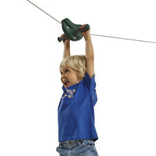 ZIP LINE WIRE 30m RED Outdoor flying fox Play Equipment Special Needs Gliding