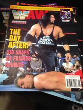 WWF WWE Magazine JUNE 1995 Diesel + Trading Cards + Poster
