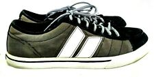 Macbeth Eliot Vegan BKI 1210 Men Sz 11 Black Gray Canvas Sneaker 75-21