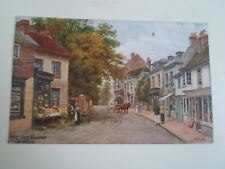 A R QUINTON Postcard 1113 THE OLD VILLAGE, BEXHILL   Franked 1921    §A2223