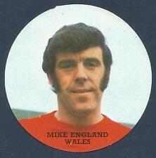 FKS 1972/73 Adesivo Circolare - # M-Wales-Mike England