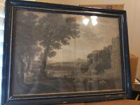 RARE ANTIQUE William Woollett Etching (1800s)
