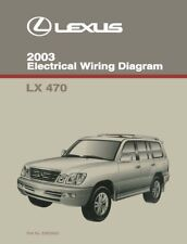 2003 lexus lx 470 wiring diagrams schematics layout factory oem