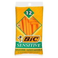 4pks of 12 BIC Sensitive Disposable Razors Single Blade 48 Total Shavers