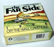 The Far Side 1998 Off The Wall Calendar Gary Larson Complete with Box