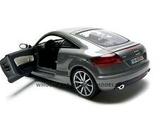2007 AUDI TT COUPE GREY 1:18 DIECAST MODEL CAR BY MOTORMAX 73177
